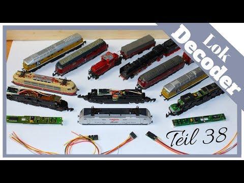 Modelleisenbahn Lok digitalisieren – Teil 38 – Div. Decoder einbauen Spur Z – alte und neue Bauart