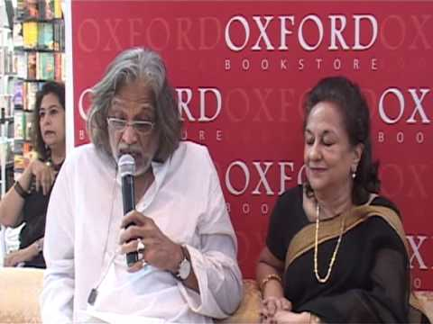 Muzaffar Ali at Oxford Bookstore Connaught Place
