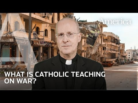 No to war! What Catholics believe about war