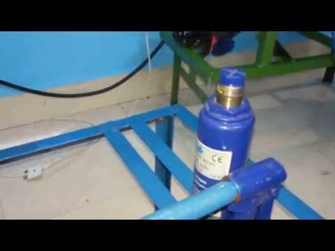 Mechanical Engineering Project Motorized hydraulic jack 1