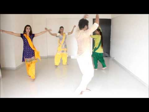 Learn Garba dance Steps from Devesh...