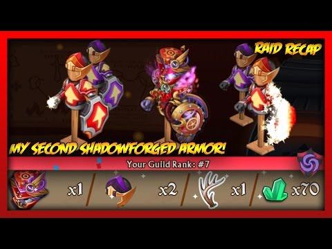 Knights and Dragons - MY NEW T10 SHADOWFORGED RAID ARMOR + LEVELING MANIPULATOR ETERNAL!! - 동영상