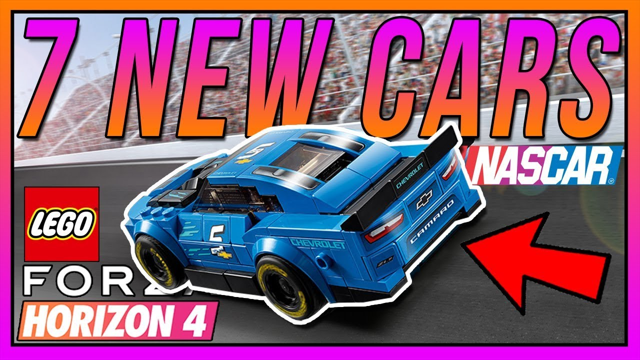 Fh4 Car List all 7 cars coming to lego fh4!! (8 possible extra cars)