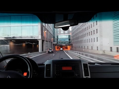 Driving in Stockholm - Early Morning Deliveries