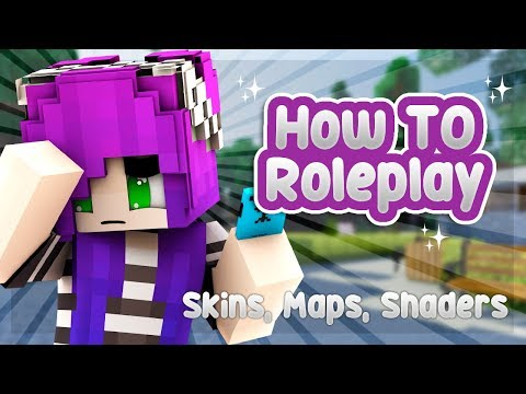 ️🎨SKINS, MAPS AND SHADERS | How To Roleplay: In Depth (Minecraft Roleplay Tutorial)