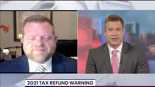 Why you may not get a big tax refund in 2021 | FOX 5 DC