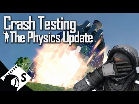 Space Engineers: Crash Testing The Physics Update (tutorials