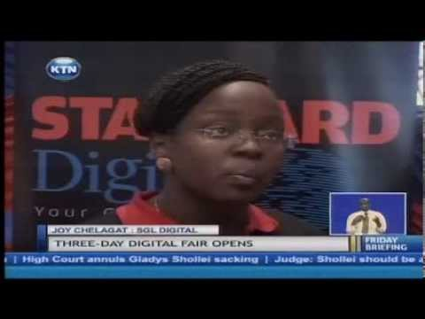 Nairobi digital fair 2014 kicks off at the Sarit centre attracting 20 exhibitors