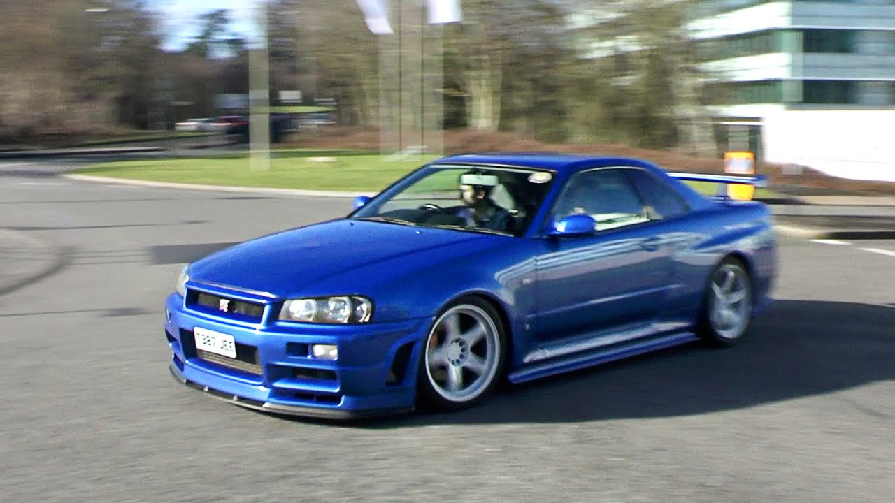 clean nissan skyline r34 gtr sounds in the sun youtube. Black Bedroom Furniture Sets. Home Design Ideas