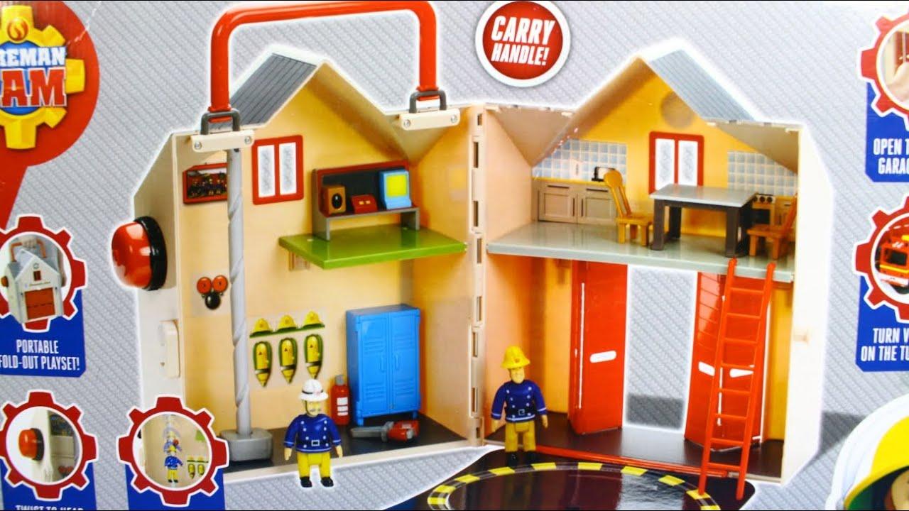 deluxe fire station playset pozharnaya stanciya fireman sam pozharnyj sem character 3372