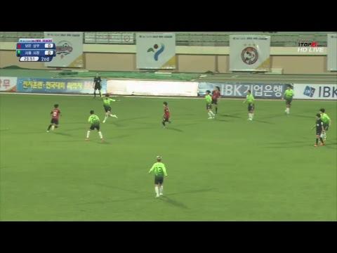 보은상무 vs 서울시청 : WK리그 24R - 2017.9.18