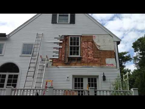 Rotten Window Casing