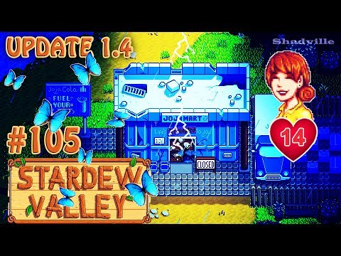 Тайна ДжоджаМарта, 14 сердец c Пенни и бабочкин комод (Update 1.4) ☀ Stardew Valley Прохождение #105