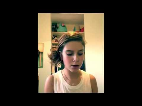 Amazing 12 Year Old Sings All Of Me