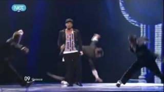EUROVISION 2011 FINAL - Greece: Loucas Yiorkas feat. Stereo Mike - Watch my dance