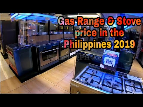 Gas Range & Stove Cash & Credit Price in the Philippines 2019