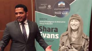 """Amazing topics - Shara has a big picture view of Smart Cities"" 