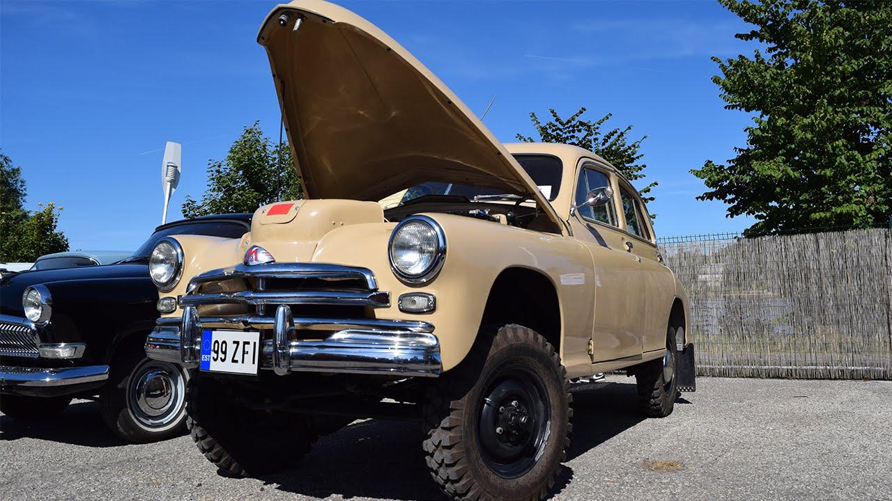 Газ м 72 / 1957 / 23 000 $. Агрегатная база — автомобили газ-м-20 « победа» и газ-69. Всего было выпущено 4677 экземпляров. Автомобиль под.