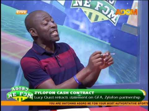 Zylofon Cash Contract - Agoro Ne Fom on Adom TV (9-2-19)