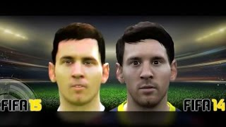 FIFA 15 vs FIFA 14 (Head to Head Faces) #2 Thumbnail