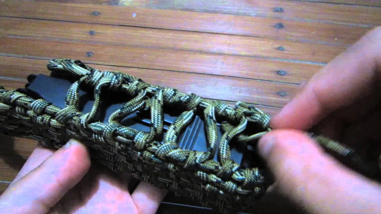 How to make a paracord multitool pouch doovi for How to make a paracord utility pouch