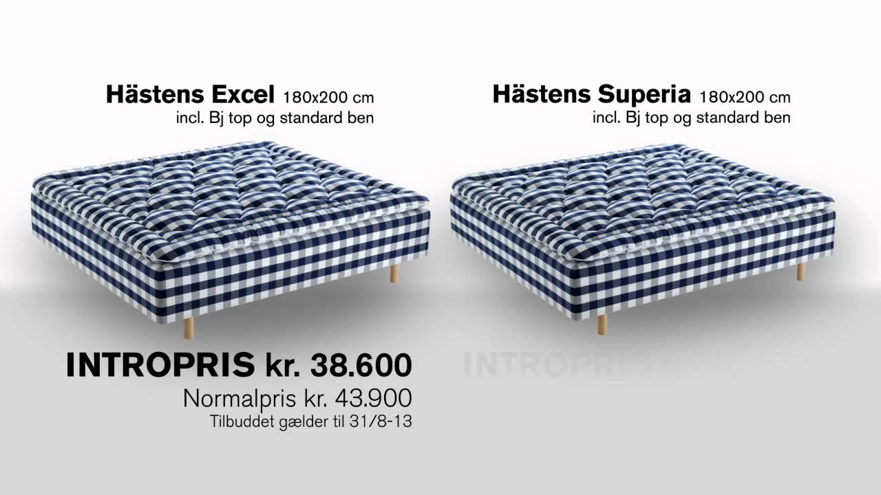 hästen seng Introduktionspris på Hästens Excel og Superia ramme senge  hästen seng