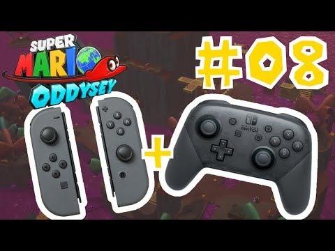 THREE PLAYER MULTIPLAYER?!? (Shared Joycon Challenge) | Super Mario Odyssey (8)