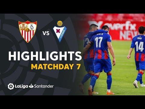 Sevilla Eibar Goals And Highlights