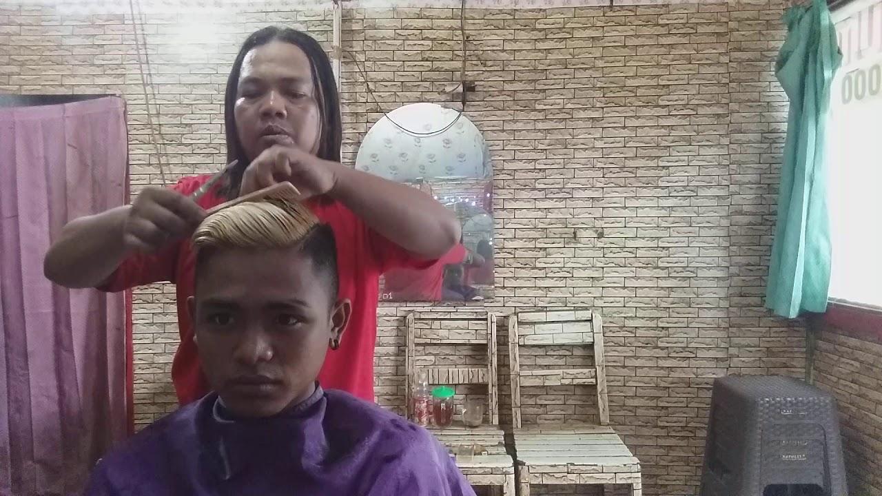 Menggunting rambut model under cut - YouTube