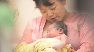 【水中溫柔生產全紀錄】小妞的誕生 Water Birth │DearBaby專業親子攝影