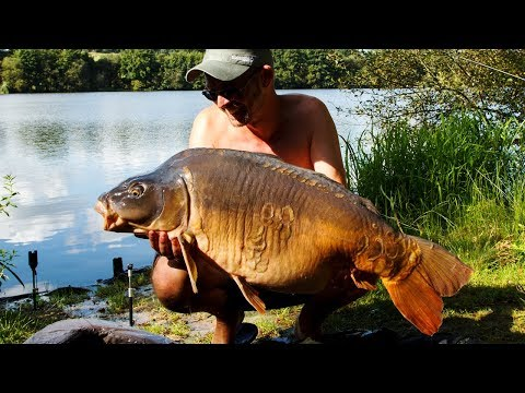 Catching Monster Carp at Cherpont Lake in France with Euro Carp Tours & Innate Baits