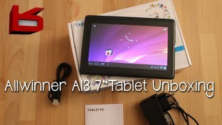 """Video Allwinner A13 Q88 7"""" Android Tablet - Unboxing download MP3, 3GP, MP4, WEBM, AVI, FLV Agustus 2018"""