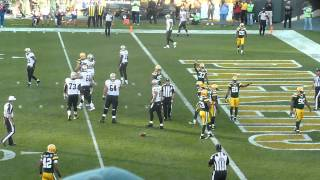 Tramon Williams deflects pass intended for Jimmy Graham in end zone Packers vs Saints 9/30/12