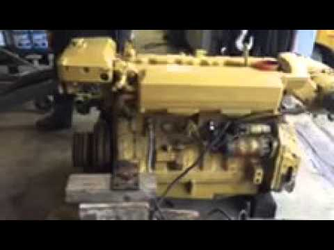 John Deere 6076 Marine Diesel 300 hp engine for sale