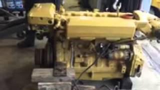 John Deere 6076 Marine Diesel 300 hp engine for sale
