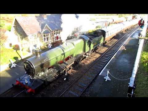 Carrog Nov 2017 Llangillen Preserved Railway, Steam Railway.