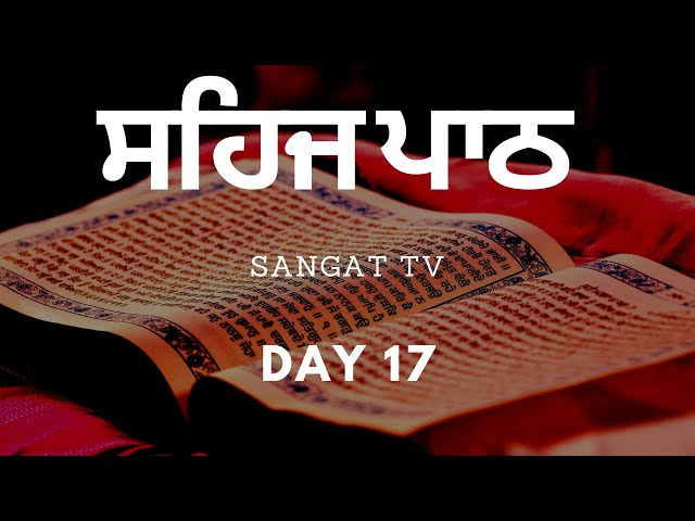 Sangat TV - Daily Coronavirus Sehaj Paath Live - Guru Har Rai Gurdwara - Day 17 - 02-04-20