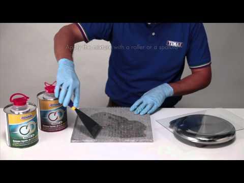 Tenax Epoxy Resin Adhesive and netting application