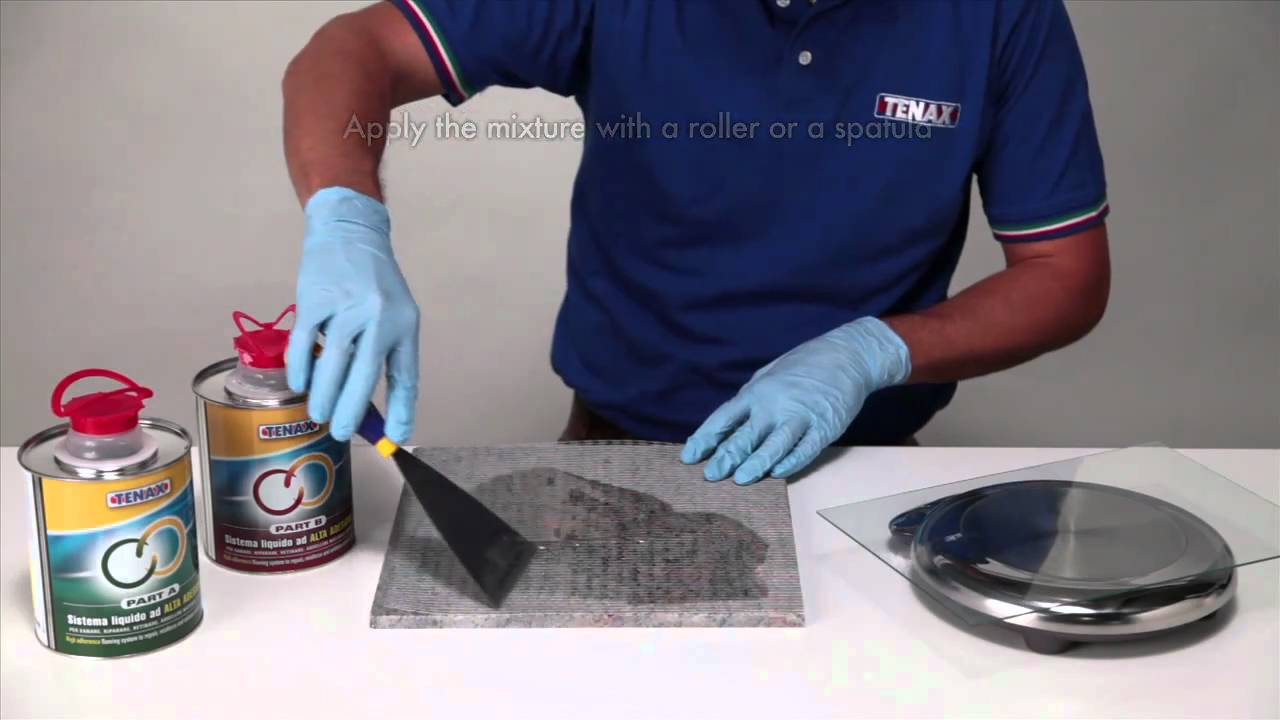 Tenax Epoxy Resin Adhesive and netting application