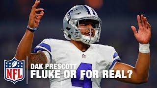 Dak Prescott: Fluke or For Real? | Move the Sticks on NFL Now | NFL