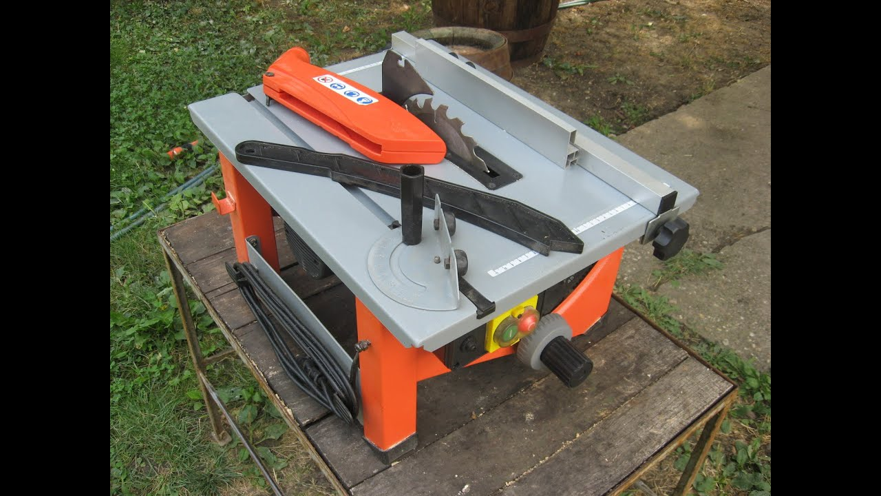 Einhell Ntk 900 W Small Stationary Table Saw Youtube