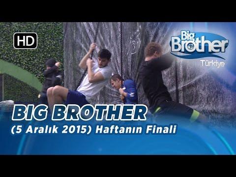 Big Brother Türkiye Haftanın Finali (5 Aralık 2015) - Bölüm 12