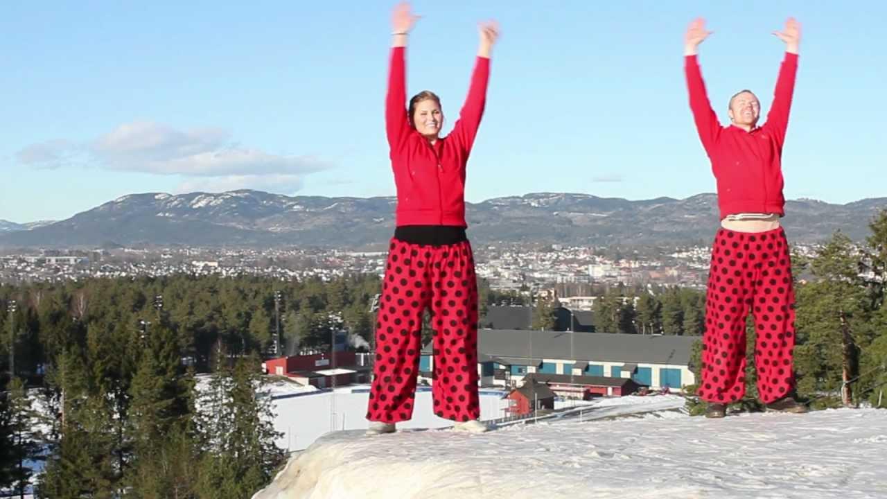 Skien fritidspark- Gøy gøy gøy vintervideo