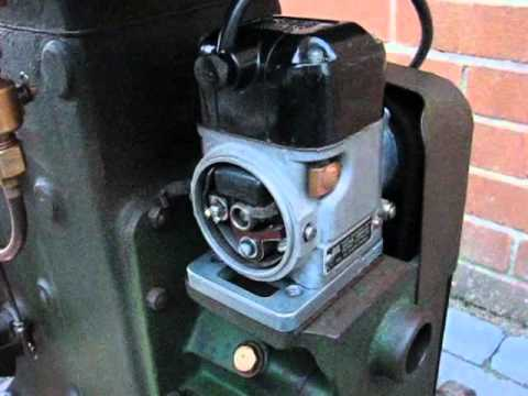 Lister D running a Wico/Wipac A Magneto Conversion