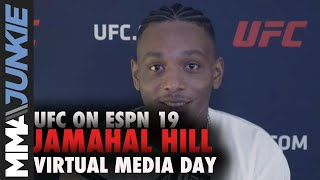 Jamahal Hill rips 'dumb as f*ck' weed rule that took away win | UFC on ESPN 19 full interview