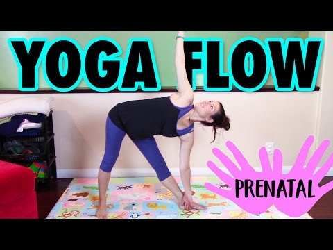 Prenatal Yoga Flow to Alleviate Pregnancy Aches and Pains