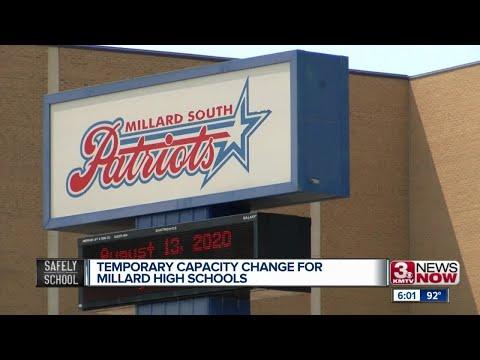 Temporary Capacity Change for Millard High Schools