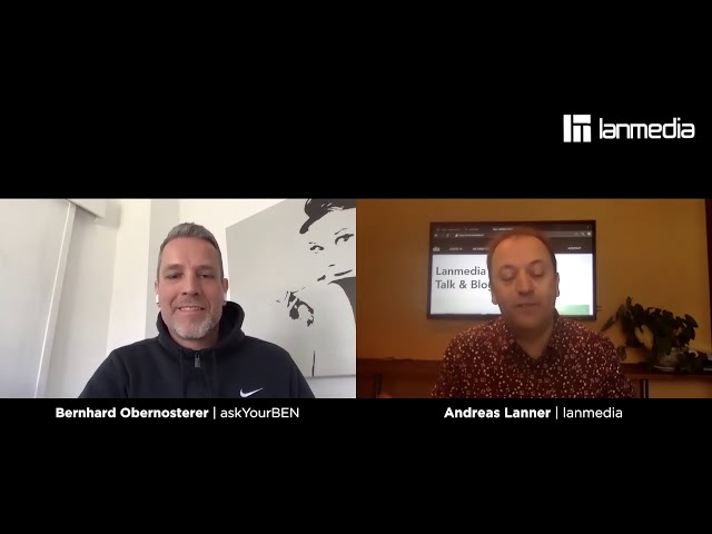 Bernhard Obernosterer | Gründer von askYourBen | lanmedia Business Talk