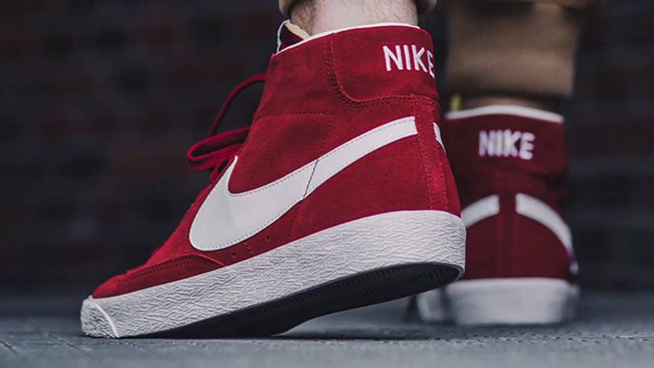 NIKE SB BLAZER MID (TEAM RED) - YouTube 9c3980727