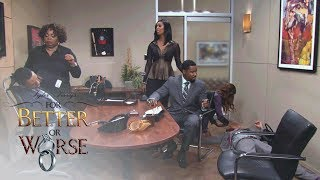 The Guys Find Out All 3 Women Are Pregnant | Tyler Perry's For Better or Worse | OWN